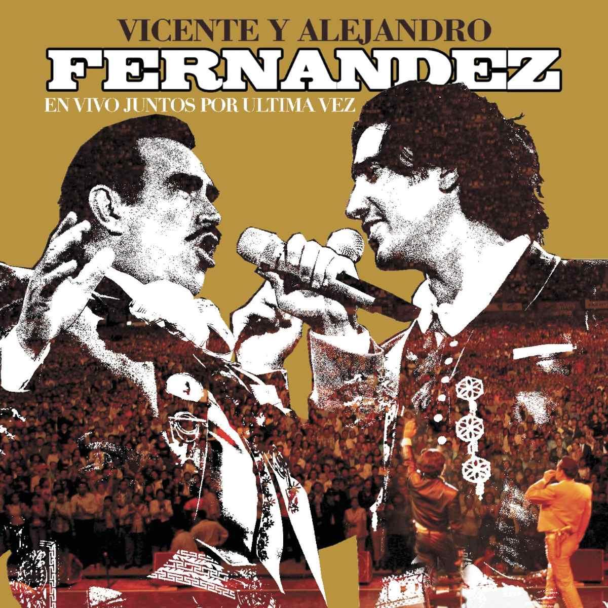 Soundhound Que Seas Muy Feliz En Vivo By Vicente Fernández Alejandro Fernández